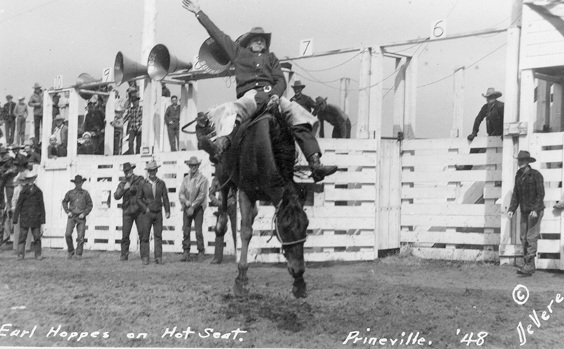 Earl Hoppes Crooked River Roundup 1948