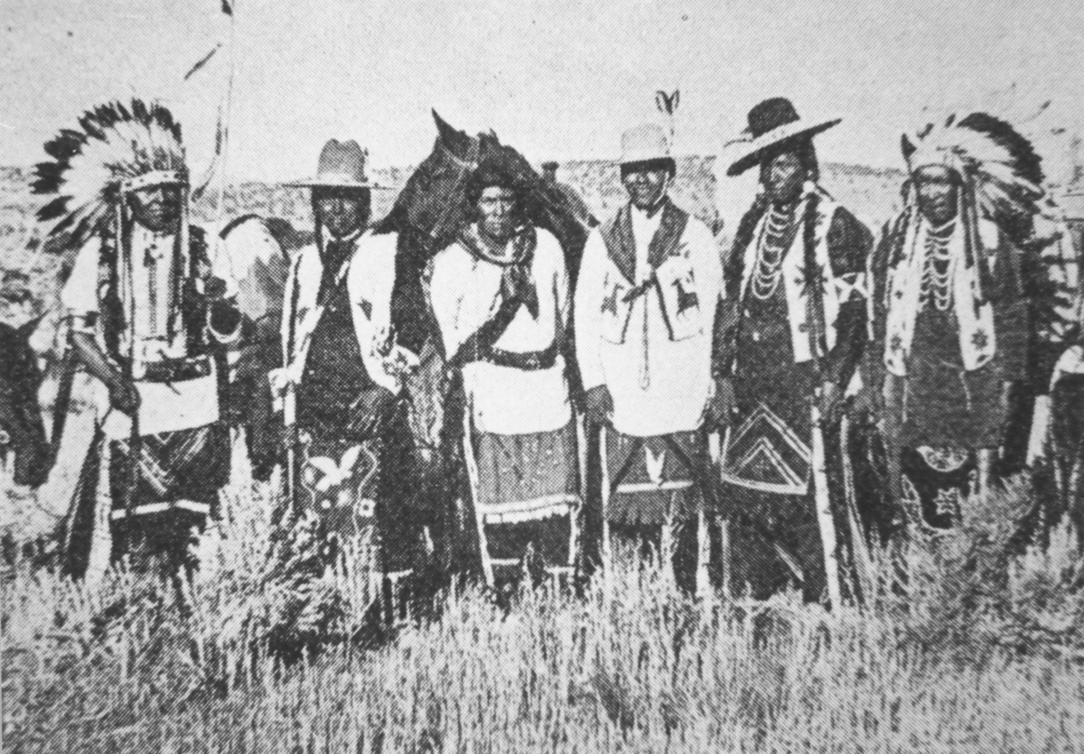 Warm Springs Indian in Prineville 1915
