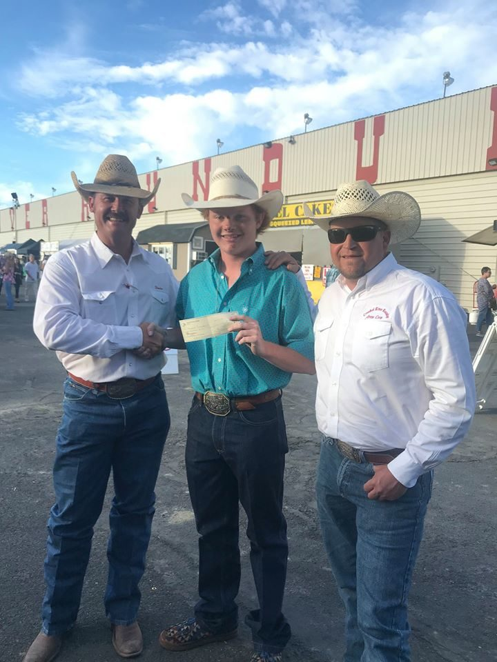 Tri County High School Rodeo Athlete Receives Donation