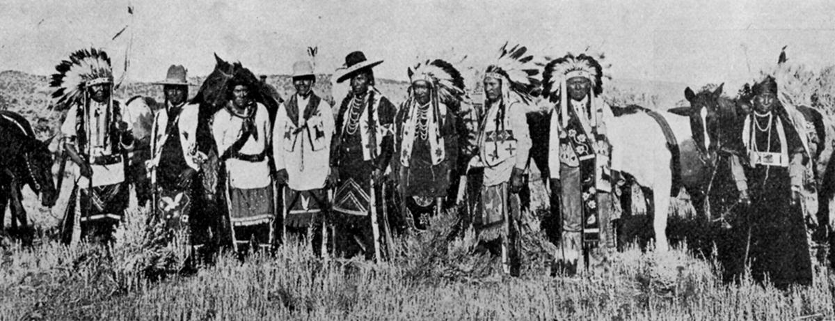 Warm Springs Indians in Prineville 1915